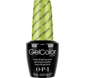 GCN33 - GelColor Life Gave me Lemons 15ml DISC