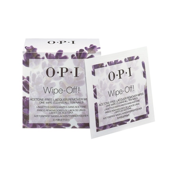 AC856 - Nail Lacquer Wipes x 10 DISC