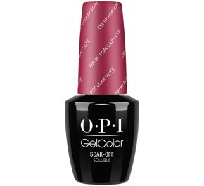 GCW63 - GelColor OPI by Popular Vote