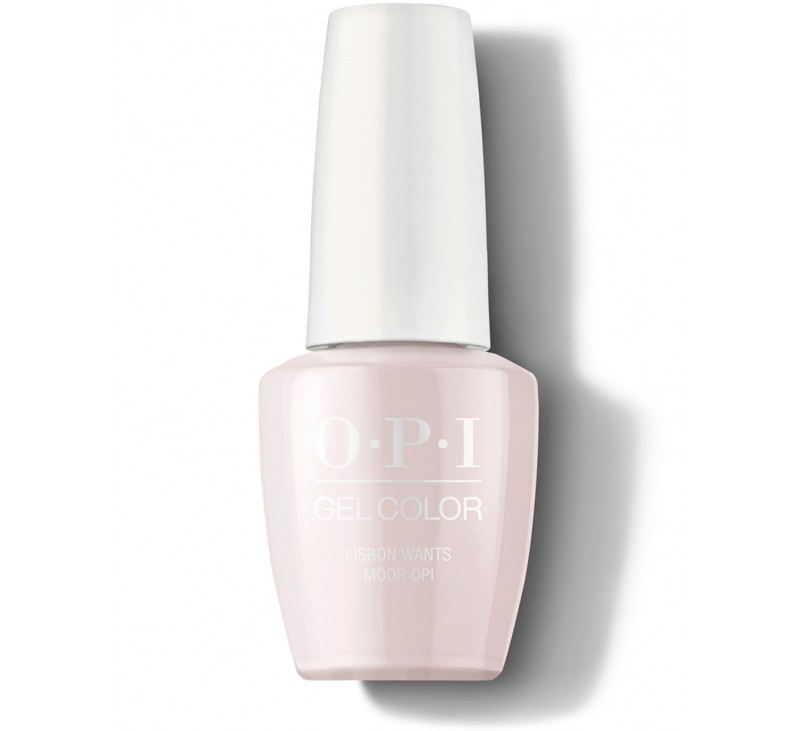 GelColor Lisbon Wants Moor OPI 15ml DISC