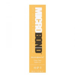 MBM24 - Microbond MicroSculpture Gel - Clear Glaze 30ml